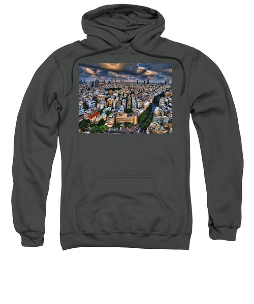 Tel Aviv Lookout Sweatshirt by Ron Shoshani