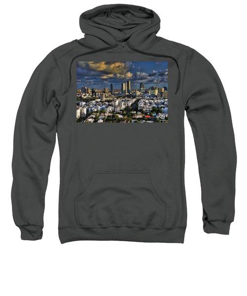 Tel Aviv Skyline Fascination Sweatshirt