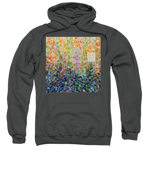 Temple Dance-tightrope  Sweatshirt