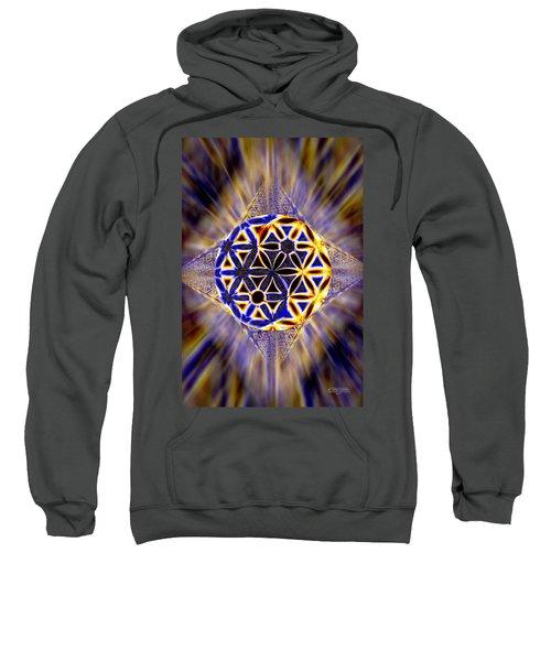 Tetra Balance Crystal Sweatshirt by Derek Gedney