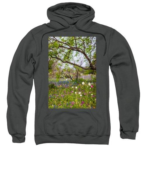 Texas Roadside Wildflowers 732 Sweatshirt