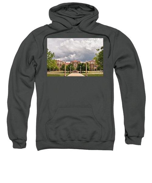 Sweatshirt featuring the photograph School Of Education by Mae Wertz