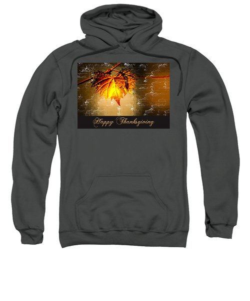 Thanksgiving Card Sweatshirt