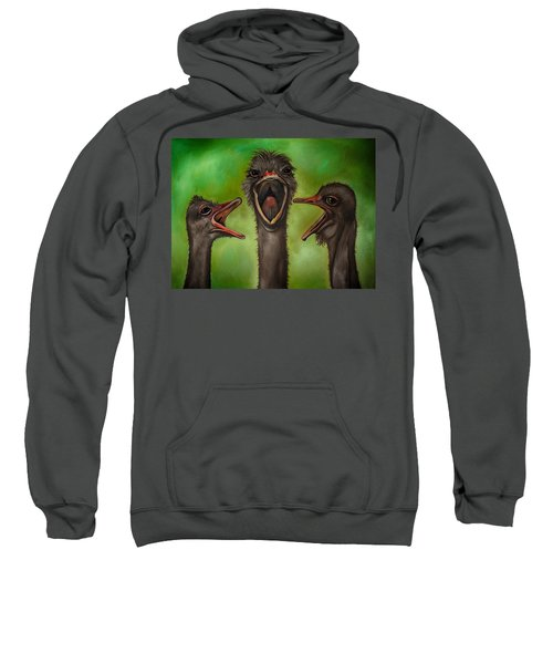 The 3 Tenors Edit 2 Sweatshirt by Leah Saulnier The Painting Maniac