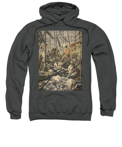 The Accident At Chesnay, Illustration Sweatshirt