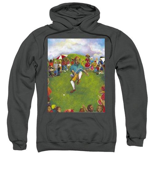 The Angry Golfer  Sweatshirt