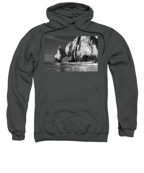 The Arch Cabo San Lucas In Black And White Sweatshirt