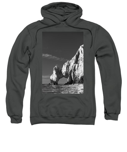 The Arch In Black And White Sweatshirt