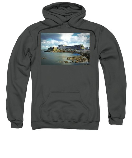 The Castle Fort On The Harbor Sweatshirt