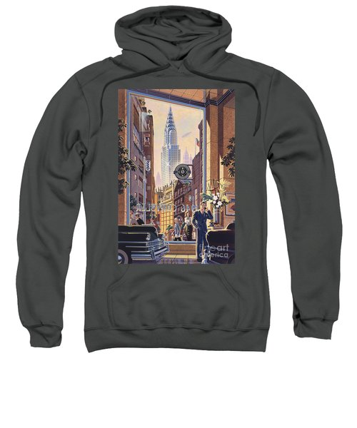 The Chrysler Sweatshirt by Michael Young