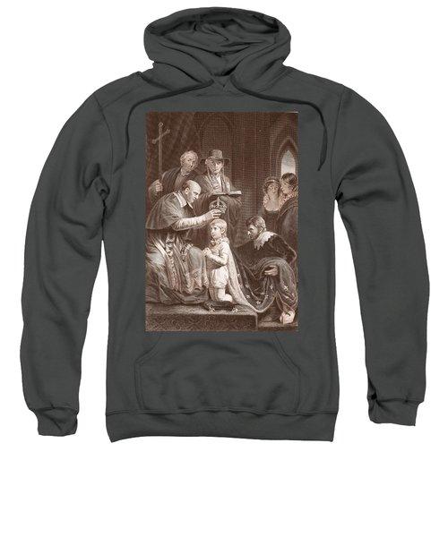 The Coronation Of Henry Vi, Engraved Sweatshirt
