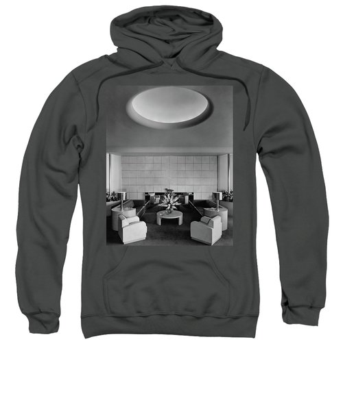 The Executive Lounge At The Ford Exposition Sweatshirt