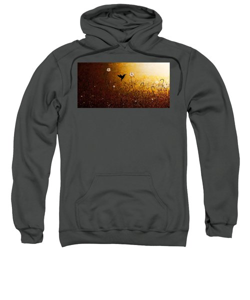 The Flight Of A Hummingbird Sweatshirt