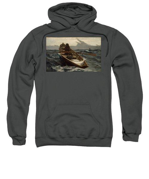The Fog Warning .halibut Fishing Sweatshirt