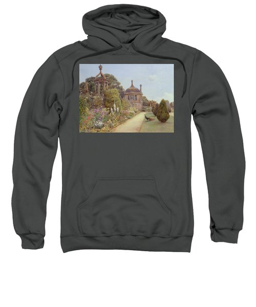 The Gardens At Montacute In Somerset Sweatshirt by Ernest Arthur Rowe
