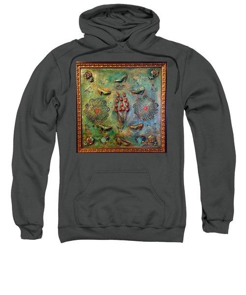 The Gift By Alfredo Garcia Art Sweatshirt