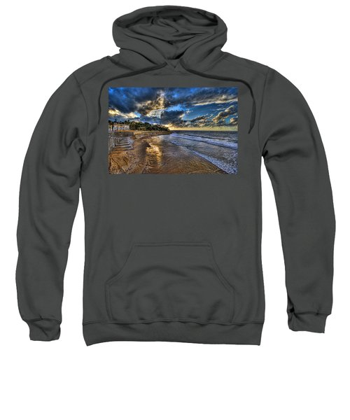 the golden hour during sunset at Israel Sweatshirt