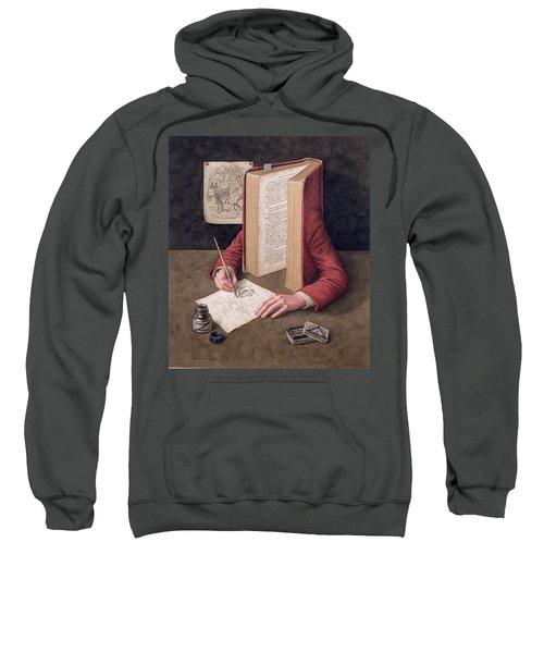 The Illustrator, 2005 Wc On Paper Sweatshirt