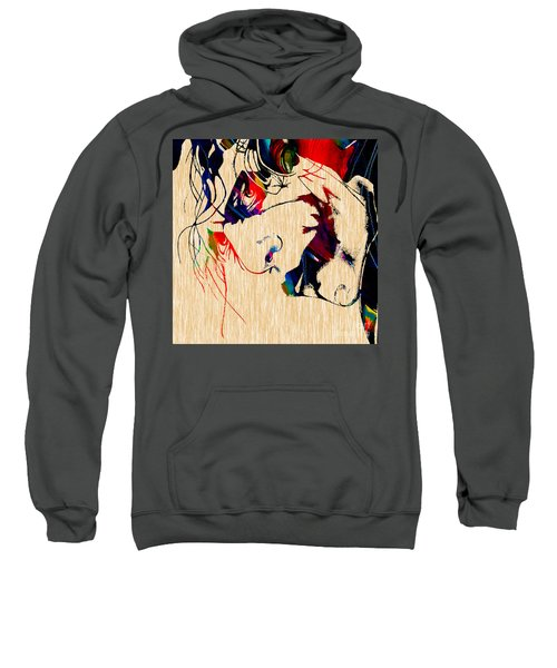 The Joker Heath Ledger Collection Sweatshirt by Marvin Blaine