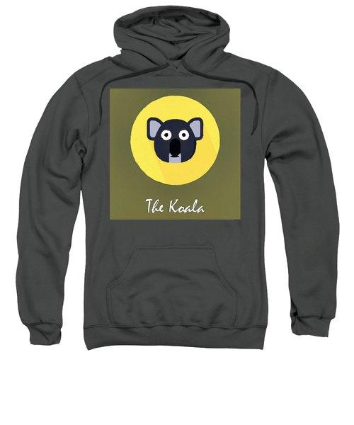 The Koala Cute Portrait Sweatshirt by Florian Rodarte