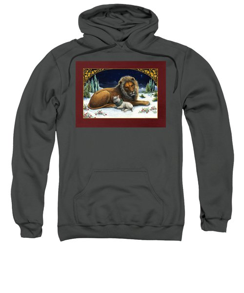 The Lion And The Lamb Sweatshirt