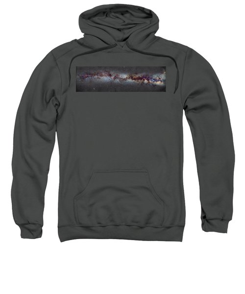 The Milky Way From Scorpio And Antares To Perseus Sweatshirt