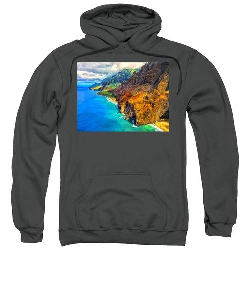 The Na Pali Coast Of Kauai Sweatshirt