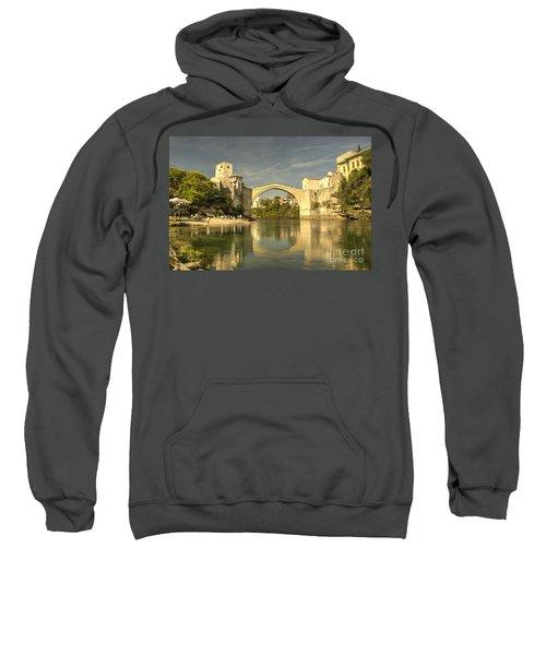 The Old Bridge At Mostar Sweatshirt