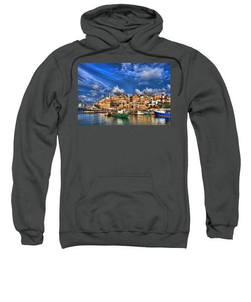 the old Jaffa port Sweatshirt