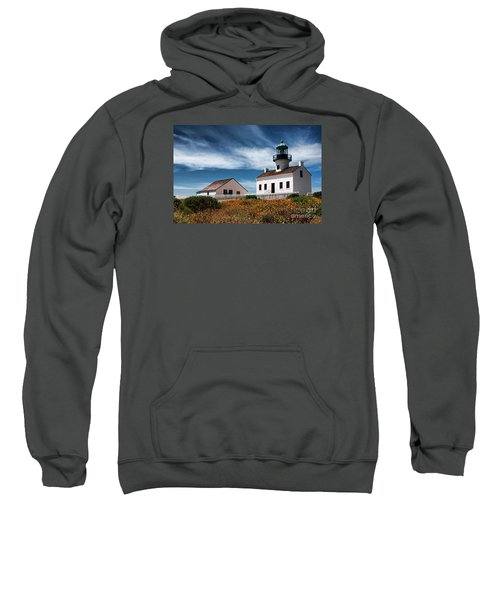The Old Point Loma Lighthouse By Diana Sainz Sweatshirt