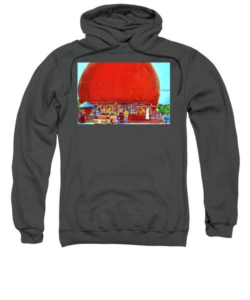 The Orange Julep Montreal Summer City Scene Sweatshirt
