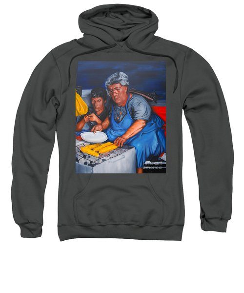 The Parga Corn Seller Sweatshirt
