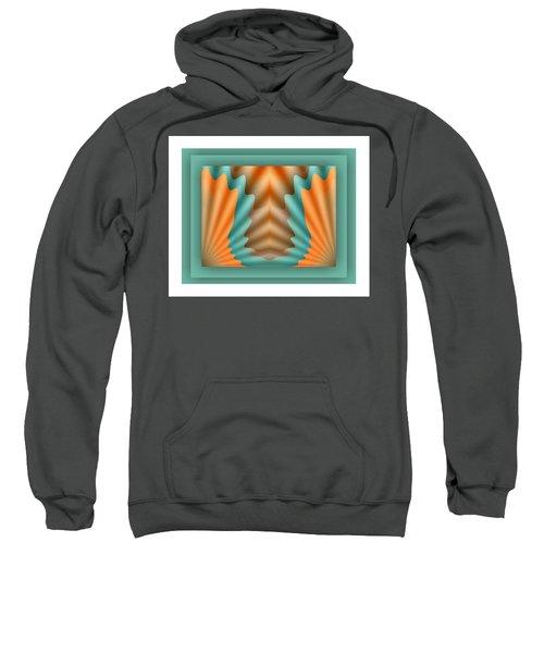 Sweatshirt featuring the digital art The Pendant by Mihaela Stancu