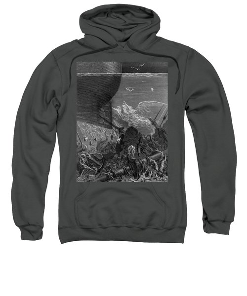 The Spirit That Had Followed The Ship From The Antartic Sweatshirt