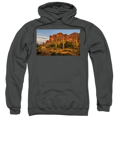 The Superstitions At Sunset  Sweatshirt