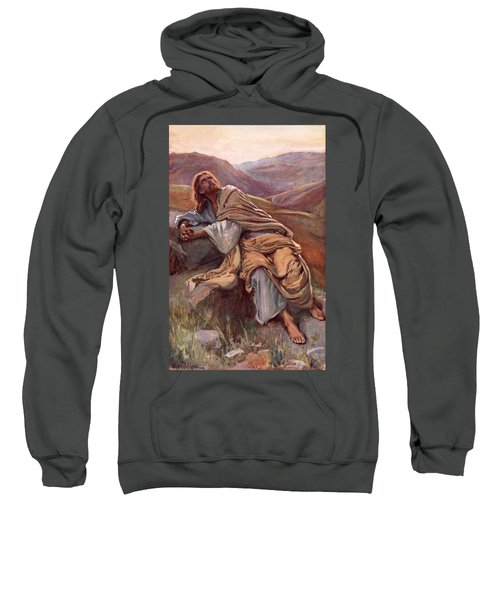 The Temptation Of Christ Sweatshirt