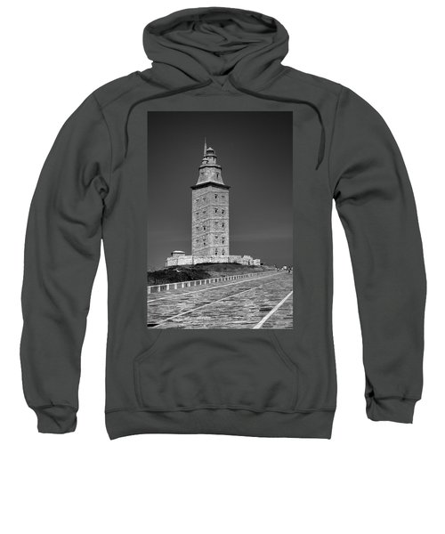 The Tower Of Hercules Lighthouse 2nd Century Sweatshirt
