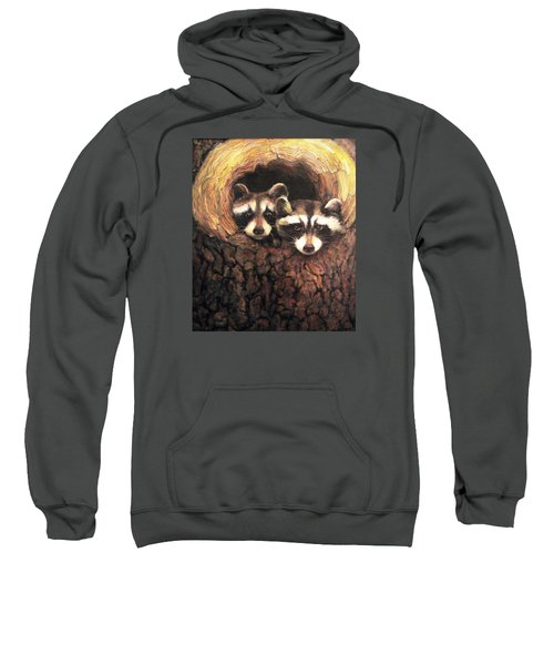Three Is A Crowd Sweatshirt