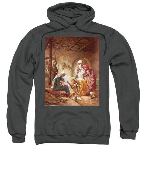 Three Kings Worship Christ Sweatshirt