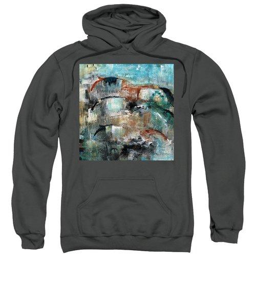 Three Running Horses Sweatshirt