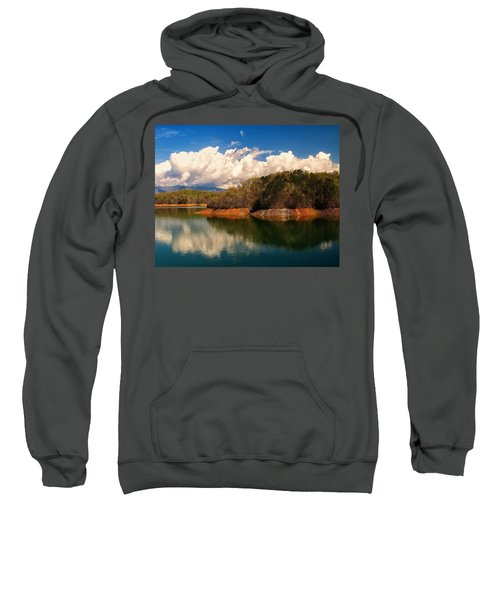 Thunderstorm Rolling Over The Smokies Sweatshirt