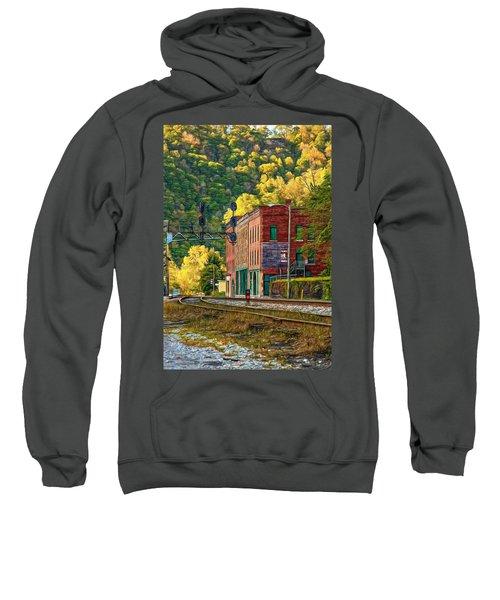Thurmond Wv - Paint Sweatshirt
