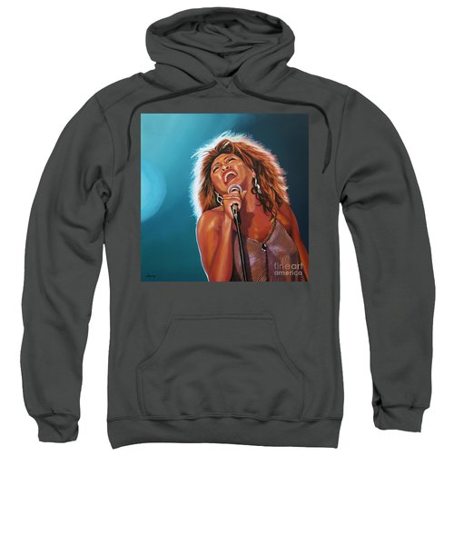 Tina Turner 3 Sweatshirt by Paul Meijering