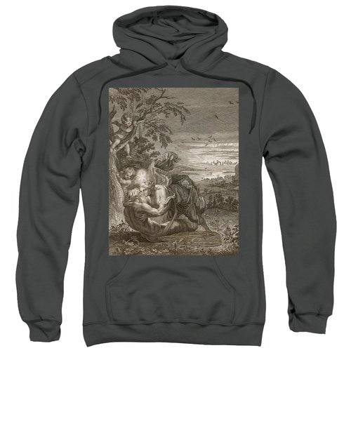 Tithonus, Auroras Husband, Turned Into A Grasshopper Sweatshirt