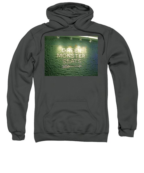 To The Green Monster Seats Sweatshirt