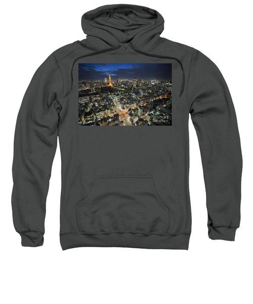 Tokyo Tower At Night Sweatshirt