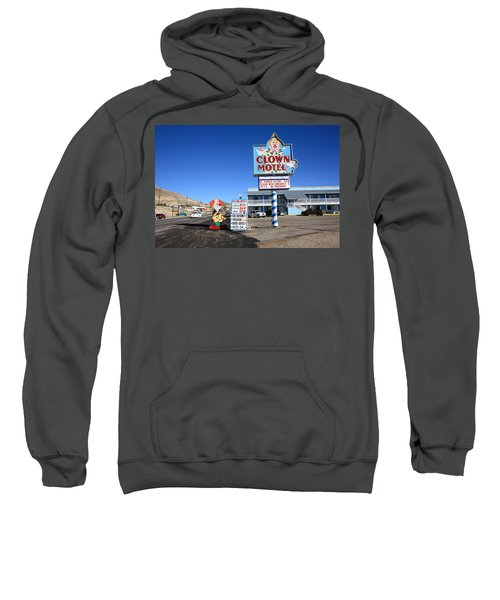 Tonopah Nevada - Clown Motel Sweatshirt