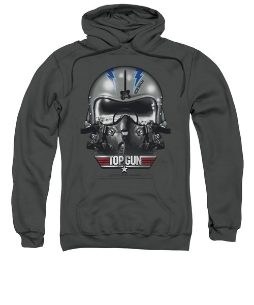Top Gun - Iceman Helmet Sweatshirt by Brand A