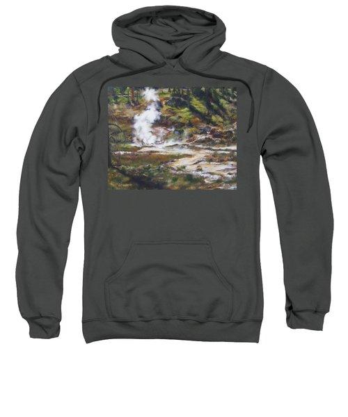 Trail To The Artists Paint Pots - Yellowstone Sweatshirt