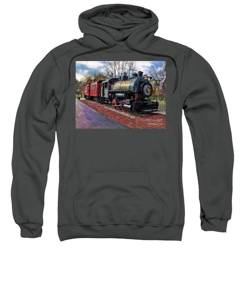 Train At Olmsted Falls - 1 Sweatshirt